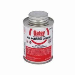 Oatey® 30818 All Purpose Medium Cement, 4 oz Can, Liquid, Milky Clear, 0.94
