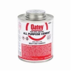 Oatey® 30834 All Purpose Medium Cement, 16 oz Can, Liquid, Milky Clear, 0.94