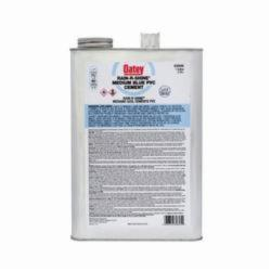 Oatey® Rain-R-Shine® 30895 Medium PVC Cement, 1 gal, Translucent Liquid, Blue, 0.92