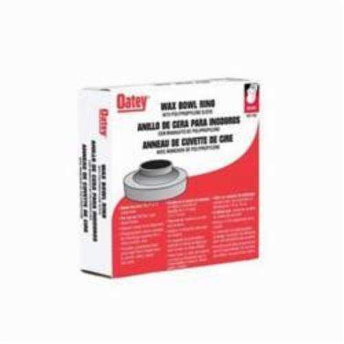 Oatey® 31194 Heavy Duty Wax Bowl Ring With Polycarbonate Sleeve, For Use With 3 and 4 in Waste Lines