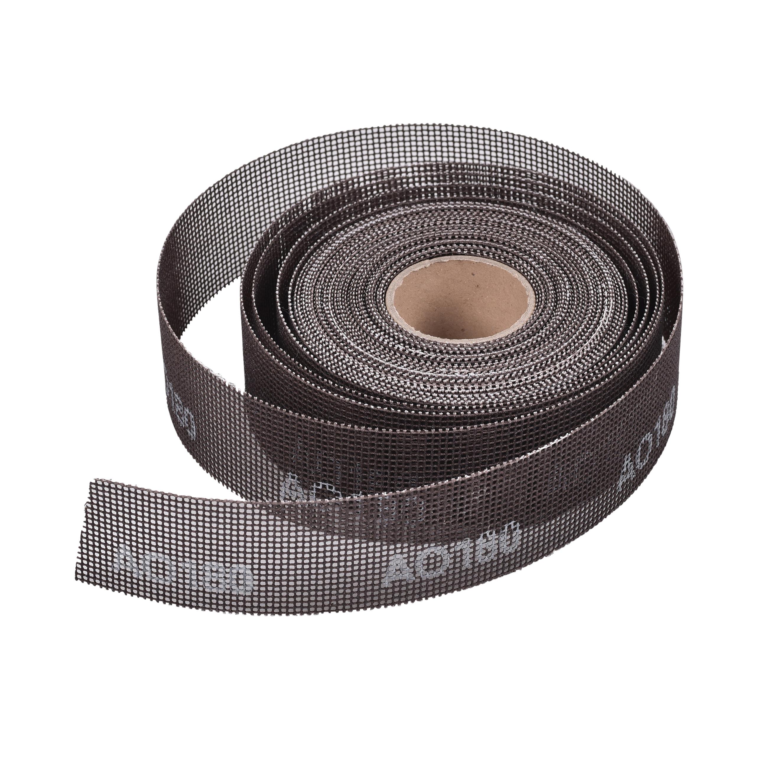 Oatey® 31321 Open Mesh Cloth, 1-1/2 in W x 10 yd L, Nylon/Aluminum Oxide Abrasive
