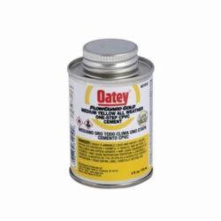 Oatey® FlowGuard Gold® 31910 1-Step All Weather CPVC Cement, 4 oz Can, Translucent Liquid, Yellow, 0.94