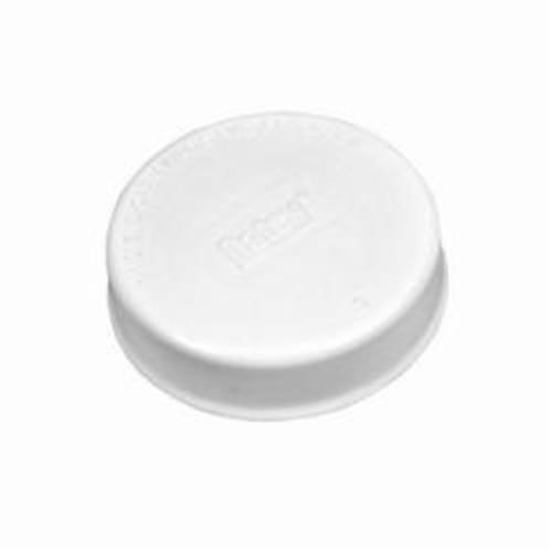 Oatey® End-Cap™ 33468 Test Cap, 1-1/2 in Dia, 15 psi, PVC, White