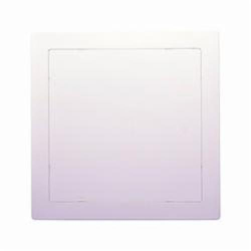 Oatey® Access Able® 34045 Access Panel, 8 in L x 8 in W, High Impact Polystyrene, White