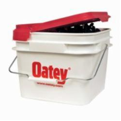 Oatey® DuoFit™ 34297 Pipe Clamp With Nail, 1/2 to 3/4 in Pipe, 2 gal, Polypropylene