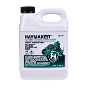 Hercules® Haymaker® 35230 Tankless Water Heater Descaler, 32 oz, Liquid, Slight Sugary