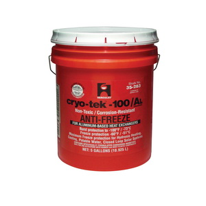 Hercules® Cryo-Tek™ 35283 Antifreeze, 5 gal, Liquid, Orange, 1.05