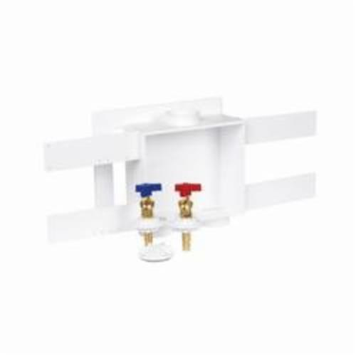 Oatey® 38533 Quadtro® Outlet Box Without Hammer, For Use With Washing Machine, Polystyrene