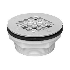 Oatey® 42077 101PNC Shower Drain With Plastic Strainer, 2 in, No Caulk, ABS Drain
