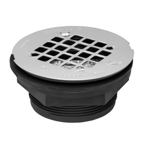 Oatey® 42084 101PNC Shower Drain With Strainer, 2 in, No Caulk, ABS Drain