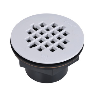 Oatey® 42086 101PS Shower Drain With Plastic Strainer, 2 in, Solvent Weld, ABS Drain