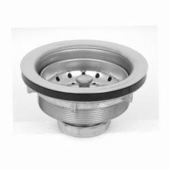 Dearborn® 6 Basket Strainer, Stainless Steel, Chrome Plated