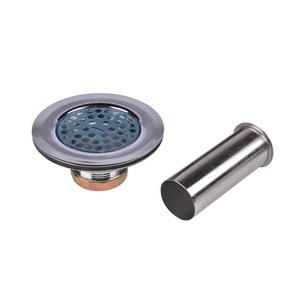 Dearborn® Brass 815BT Flat Top Sink Basket Strainer, 1-7/8 in OAL, Brass