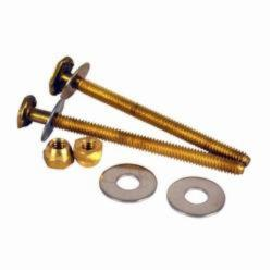 Hercules® Johni-Bolts® 90154 Extra Long Closet Bolt, For Use With Water Closet Base, Brass