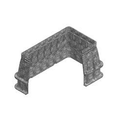Fibrelyte® 02006100 FL36 Straight Wall Medium Duty Valve Box, 30 in L x 17 in W x 18 in H, Rectangular