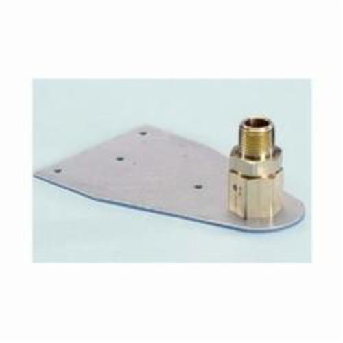 TracPipe® Counterstrike® FGP-TM-500 Termination Mount, For Use With 1/2 in TracPipe® and CounterStrike® Fittings, 1/2 in, Brass, Domestic