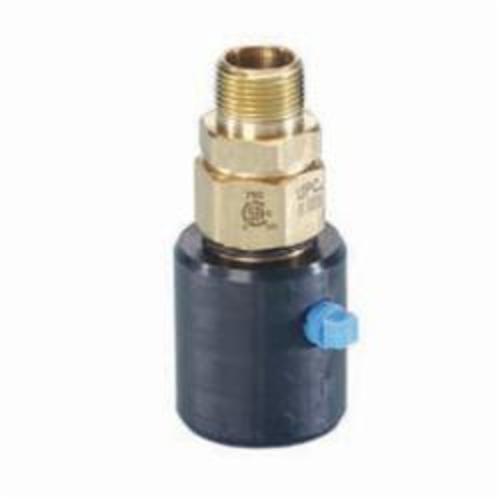 TracPipe® Counterstrike® FGP-UGF-500 Adapter, 1/2 in, MNPT x TracPipe® PS-II/CounterStrike®, Yellow Brass, Domestic
