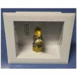 TracPipe® Counterstrike® AutoFlare® FGP-WBTM-500 Wall Box With 90 deg Valve Assembly, 1/2 in, NPT, 0.5 psig, Domestic