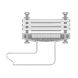 PASCO 1018-K Closet Flange Extension Kit With Closet Bolts, Nuts and Washers, Domestic