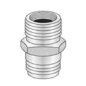 PASCO 2140 Adapter, 3/4 in, Male Hose Thread x MNPT, Brass, Domestic