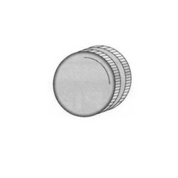 PASCO 2152 Hose Cap With Washer, 3/4 in, Female Hose Thread, Brass, Domestic