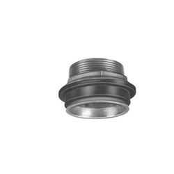 PASCO 956 Closet Spud With Brass Lock Nut, 2 in