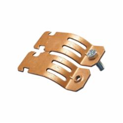 Caddy® COPC0050CP 1-Piece Strut Clamp, 1/2 in Conduit, 400 lb Load, 5/8 in OD, Steel