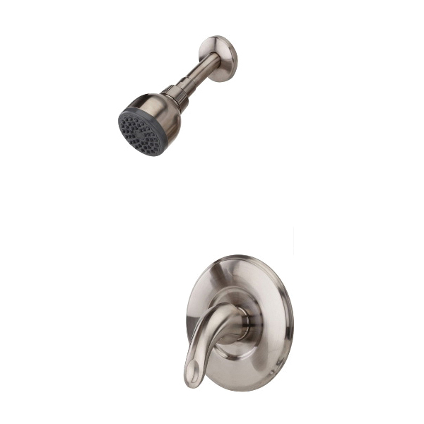 Pfister® G89-7SRK Serrano™ Shower Only Trim, 2 gpm, 1 Lever Handle, Brushed Nickel