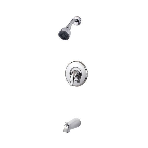 Pfister® R89-8SRC Serrano™ Tub and Shower Only Trim, 2.5 gpm, 1 Handle, Polished Chrome