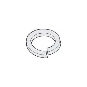 PHD 134 Lock Washer, 1/2 in, Low Carbon Steel, Electro-Galvanized