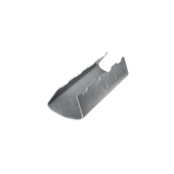 PHD SNAPPITZ 1330799 165 Self-Locking Pipe Insulation Shoe, 4 in, 4-1/2 in THK, PVC, Plain