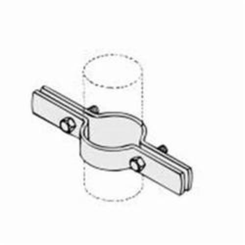 PHD 550 0300PL Pipe Riser Clamp, 3 in Pipe, 500 lb, Carbon Steel, Plain, Domestic