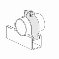 PHD S2004AEG I.P Pipe Clamp, 1 in, 75 lb Load, Carbon Steel