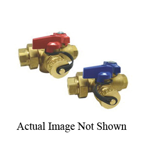 RWV® 3420RAB 3/4 Ball Valve, 3/4 in, FNPT, 600 lb, Brass Body, Full Port