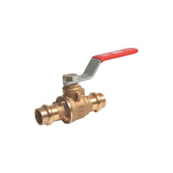 RWV® 5020AB 1 2-Piece Ball Valve, 1 in, Dual Female EzPress, Bronze Body, Full Port