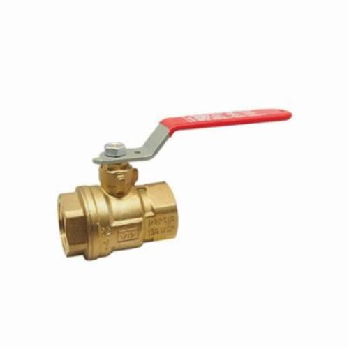 RWV® 5044F 1 Standard Ball Valve, 1 in, FNPT, Forged Brass Body, Full Port