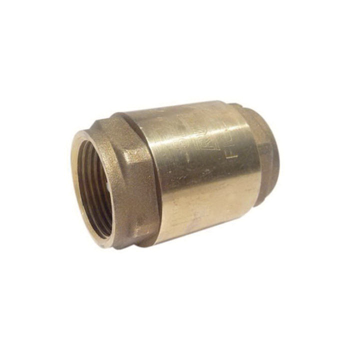 RWV® 232AB 3/4 In-Line Check Valve, 3/4 in, Thread, 200 lb WOG, Forged Brass Body, Low Lead Compliance: Yes
