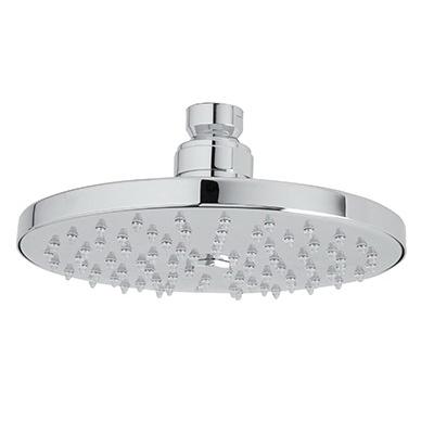 Rohl® 1073/8-APC Rodello/Spa Shower Head, 2 gpm, 1 Spray, Ceiling Mount, 6 in Dia x 2-3/8 in H Head