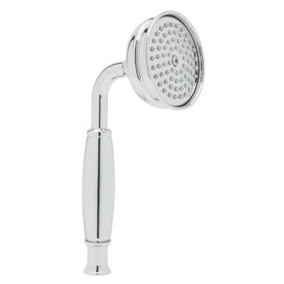 Rohl® 1101/8E-APC Verona/Anti-Cal/Spa Shower Hand Shower, 2 gpm, 1 Spray, 3 in Dia Head, 1/2 in Male