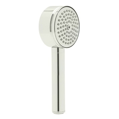 Rohl® 1130E-PN Anti-Cal/Spa Shower/Zephyr and Gotham Hand Shower, 2 gpm, 1 Spray, 2-7/8 in Dia Head, 1/2 in Male