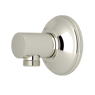Rohl® 1690-PN Modern Wall Outlet, For Use With Hand Shower, 2-5/16 in Extension, Brass, Polished Nickel