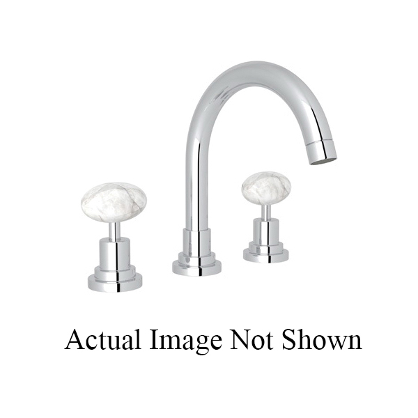 Rohl® A2228LM-APC-2 Modern Bath Lombardia Widespread Lavatory Faucet, 1.2 gpm, 4-61/64 in H Spout, 8 in Center, Polished Chrome, 2 Handles, Pop-Up Drain