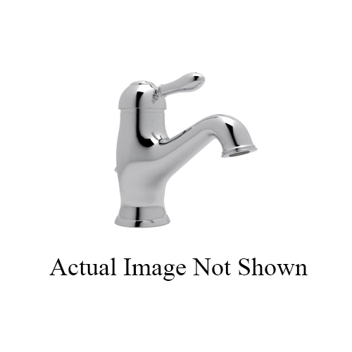 Rohl® AY51-APC-2 Cisal Bath Arcana Lavatory Faucet, 1.2 gpm, 3-5/32 in H Spout, Polished Chrome, 1 Handle, Pop-Up Drain