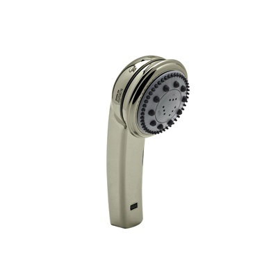 Rohl® B240NHSO-STN Bossini Master-Flow Hand Shower, (3) 3-1/2 in Dia Shower Head, 2 gpm, 1/2 in Male x G-1/2 in, Satin Nickel
