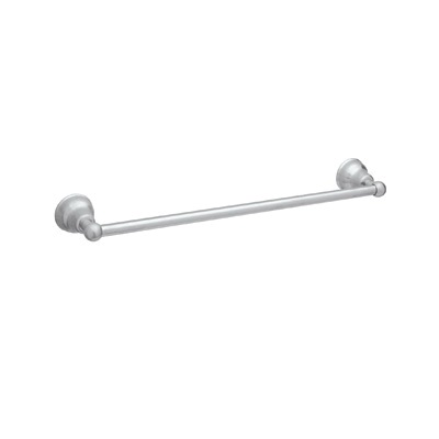 Rohl® CIS1/24-APC Cisal Bath Single Towel Bar, 24 in L Bar, 3-1/2 in OAD, Solid Die Cast Metal