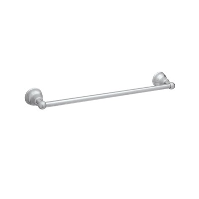 Rohl® CIS1/30-APC Cisal Bath Single Towel Bar, 30 in L Bar, 3-1/2 in OAD, Solid Die Cast Metal