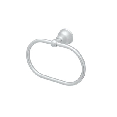 Rohl® CIS4-APC Cisal Bath Towel Ring, 3-1/4 in OAD x 6-1/4 in OAH, Solid Die Cast Metal