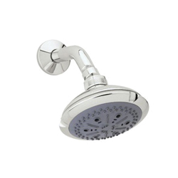 Rohl® I00180-PN Ocean4 Multi-Function Shower Head, 2 gpm, 4 Sprays, 4-1/2 in Dia x 3-11/16 in H Head