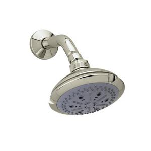 Rohl® I00180-STN Ocean4 Multi-Function Shower Head, 2 gpm, 4 Sprays, 4-1/2 in Dia x 3-11/16 in H Head