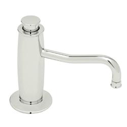 Rohl® LS3550-PN Michael Berman Soap/Lotion Dispenser, 12 fl-oz, Brass, Polished Nickel